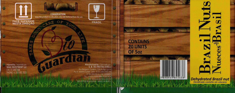 Brazil nuts, 60 units